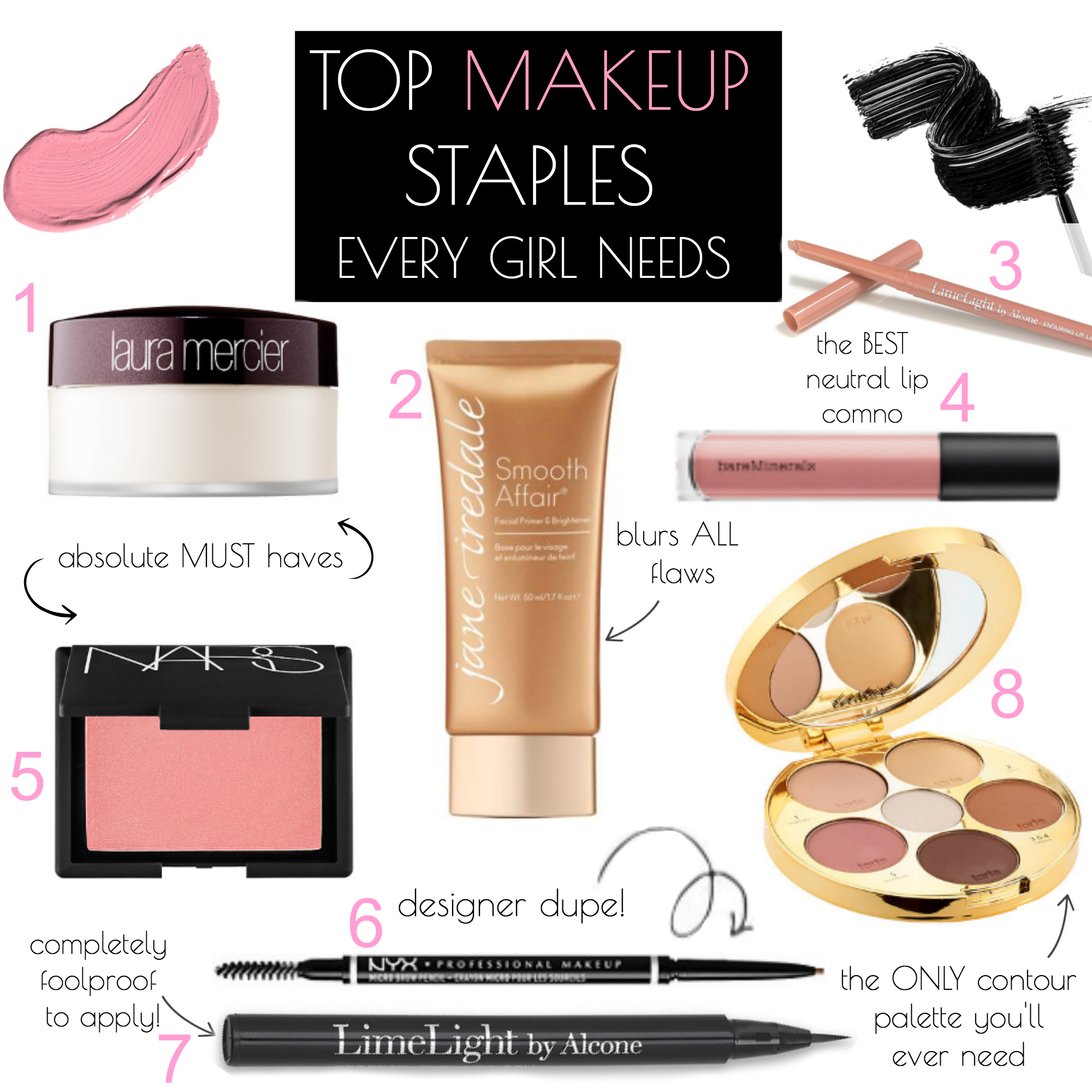 best makeup must haves