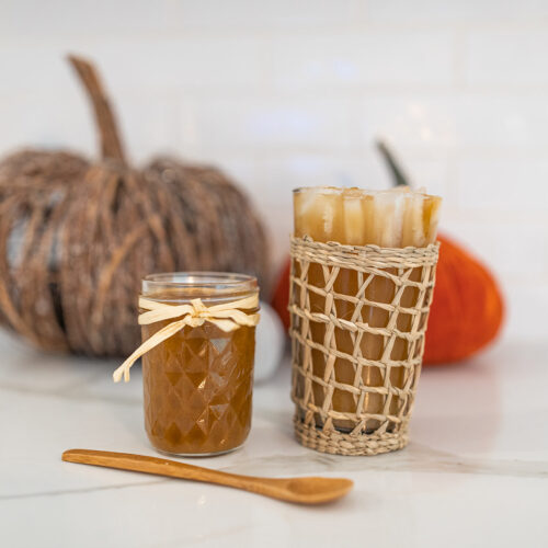 pumpkin spice puree
